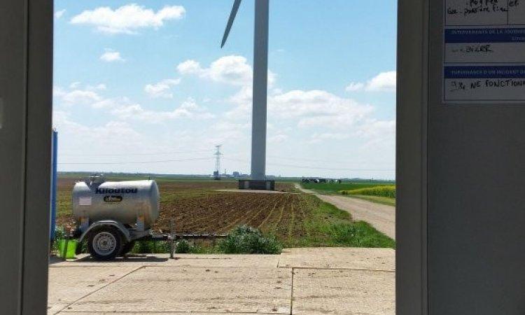 Surveillance de site éoliens à Bourges
