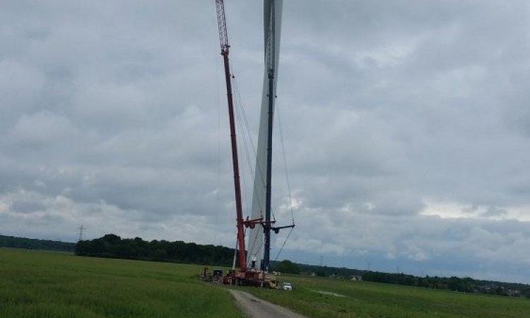 Surveillance de site éolien à Bourges